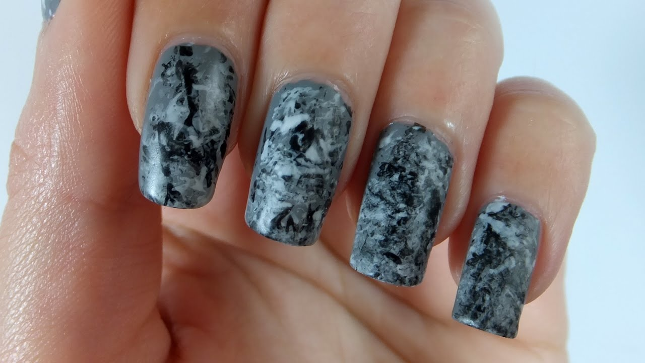 Stone Marble Nail Designs